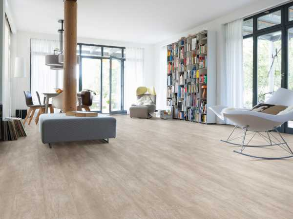 "Designboden Antikeiche Creme rustikal ""Disano Life"" Landhausdiele XL"