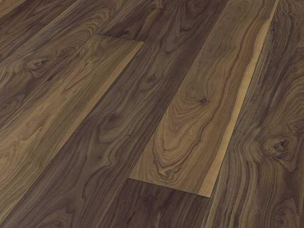 Designboden Avatara Floor Nussbaum dunkelbraun Landhausdiele
