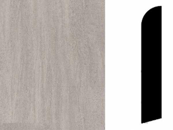 Sockelleiste Bardiglio Dark Grey Dekor