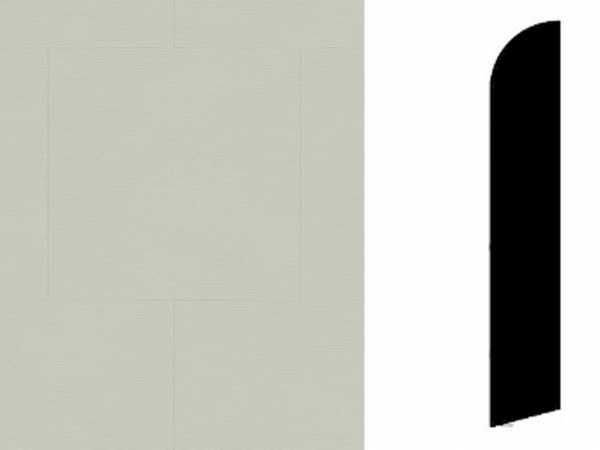 Sockelleiste Twine Light Grey Dekor