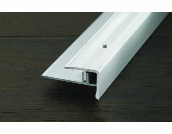 "Treppenkantenprofil ""PROSTEP"" Aluminium eloxiert Edelstahl"