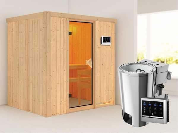 Sauna Systemsauna Fanja inkl. Plug & Play Bio-Ofen