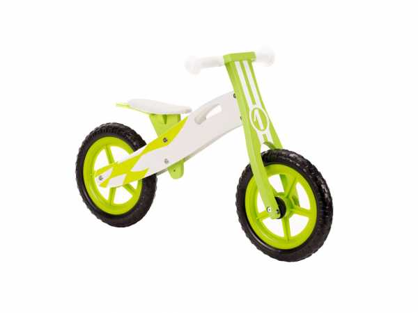 Lernlaufrad Rider Weiß / Grün