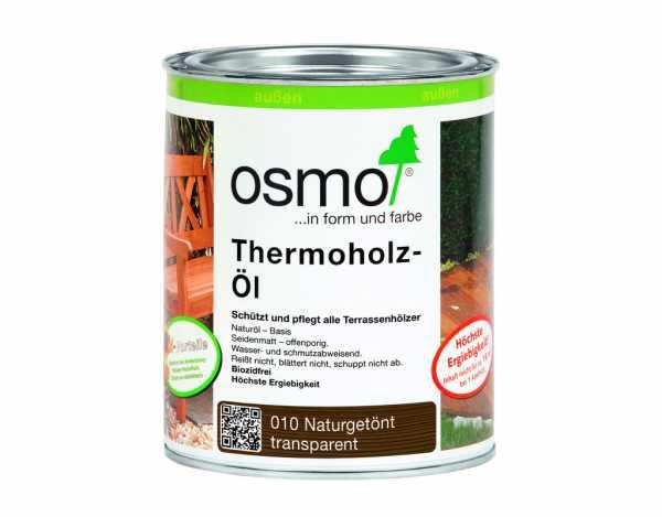 Thermoholz Öl 010 naturgetönt transparent
