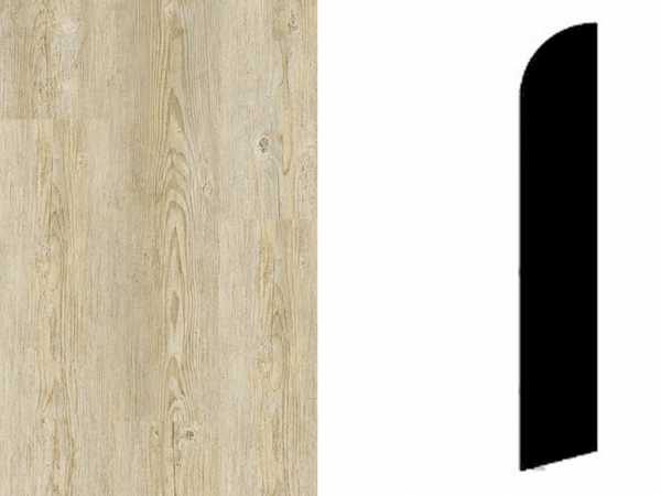 Sockelleiste Brushed Pine Natural Grey Dekor
