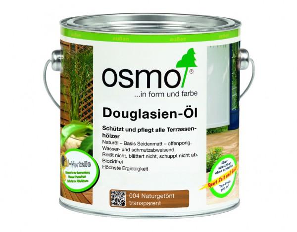 Douglasien Öl 004 naturgetönt seidenmatt 2,5 Liter