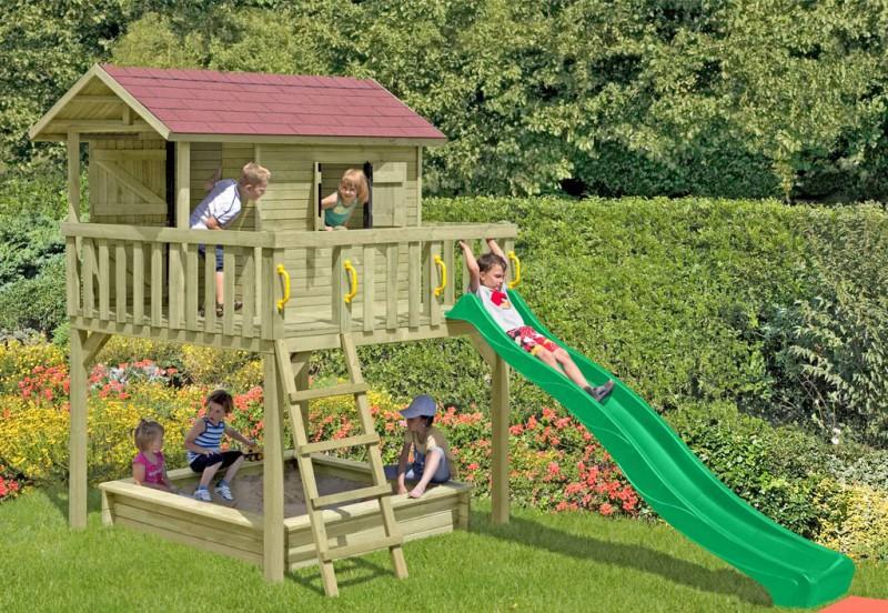 d8d3cf8d7b Garten Stelzenhaus für Kinder online kaufen | Holzprofi24